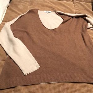 Made well color block sweater. Size M